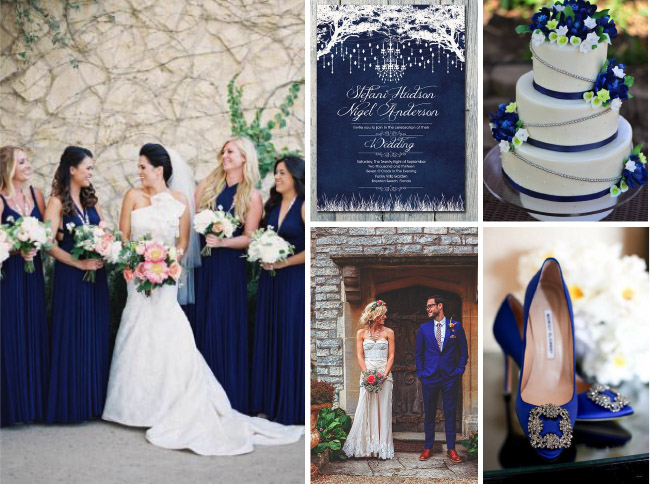Royal Blue Is A Clic Wedding Color That S Making Comeback This Year Deep Elegant Colour It Also Surprisingly Versatile