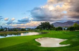 A view of the Pearl Valley golf course