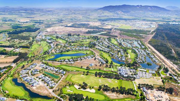 Aerial View of Pearl Valley